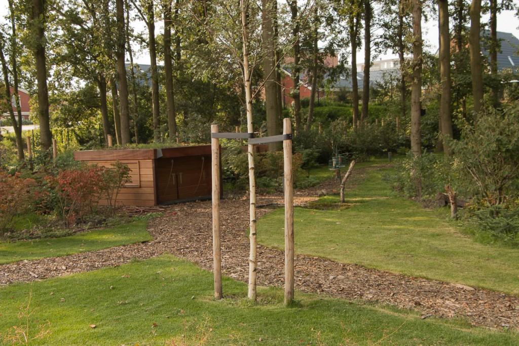 Vogelhut in mijn tuin